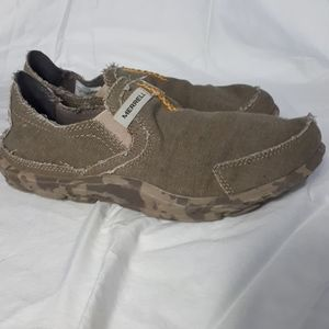 Merrell Mens Performance Shoes in Sand